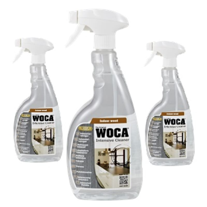 WOCA Intensive Pre-mix Cleaner Spray 0.75L Triple Pack Oils & Maintenance
