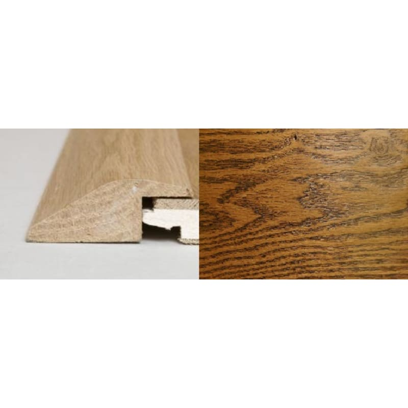 Honey Oak Ramp Bar 2 metre Ramp Profile