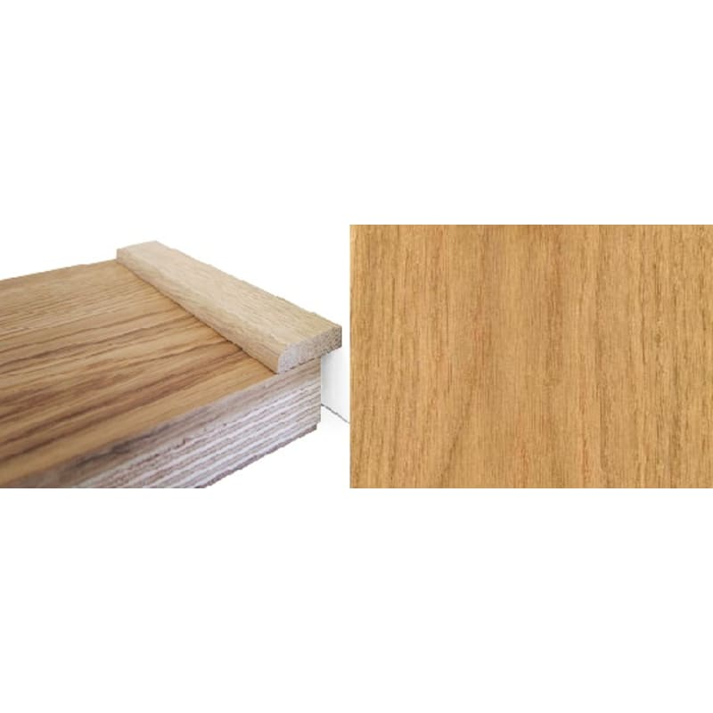 Solid Oak 22mm Flat Strip 2.7 Metre Scotia