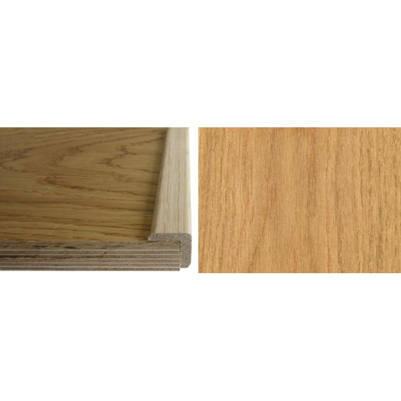 Solid Oak  24mm L-Quadrant 1.0 Metre Scotia