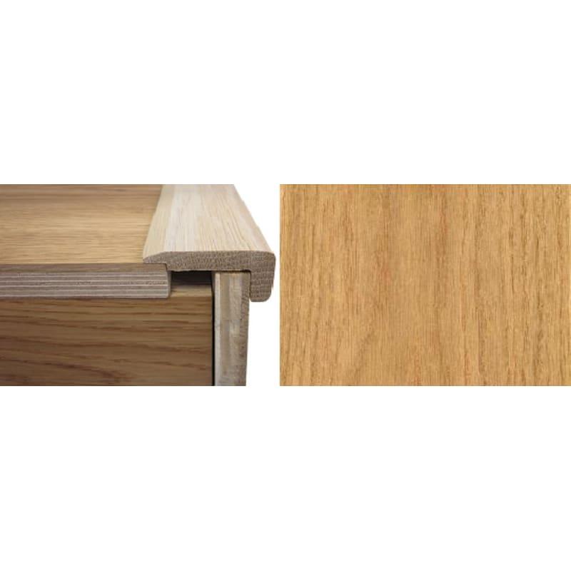 Solid Oak Stair Nosing 20mm Rebate 2.7 Metre Stair Profiles
