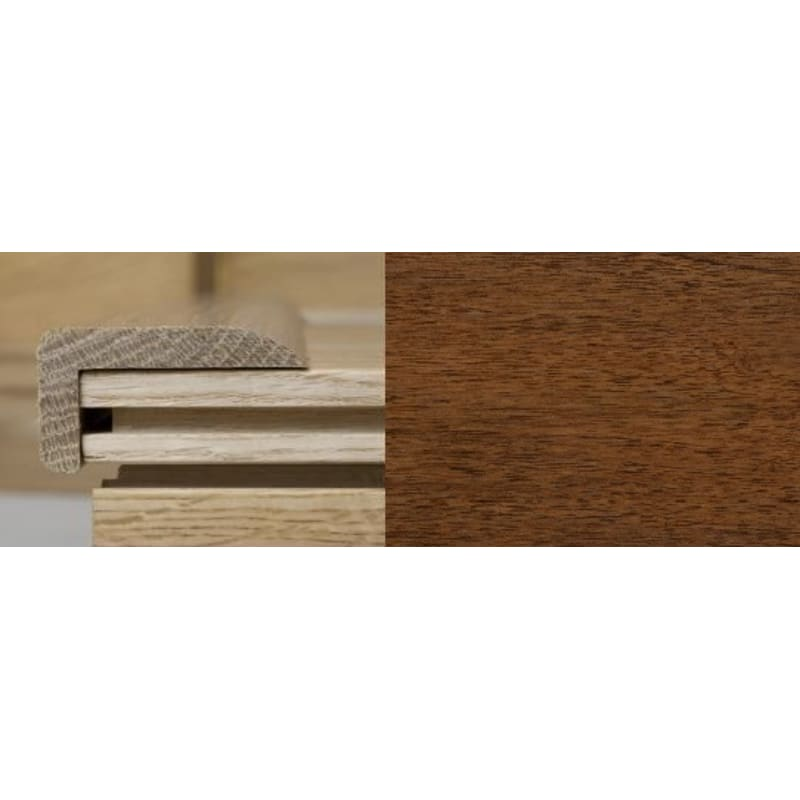 Light Walnut Stair Nose 2 Metre Stair Profiles
