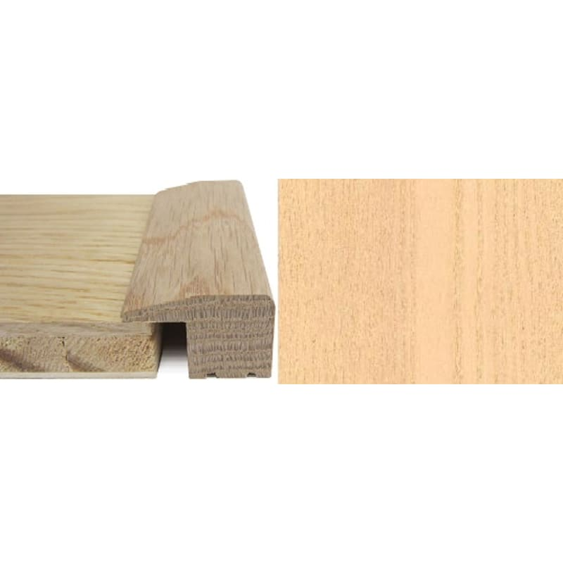 Ash Square Edge Solid Wood 15mm Rebate 2.4 Metre Square Edge