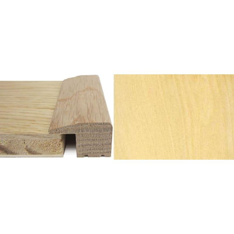Maple Square Edge Solid Wood 15mm Rebate 2.4 Metre Square Edge