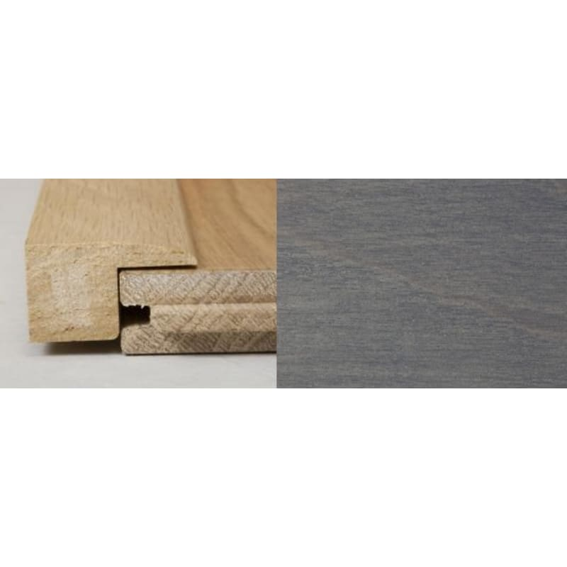 Silver Grey Stained Square Edge 1 Metre Square Edge