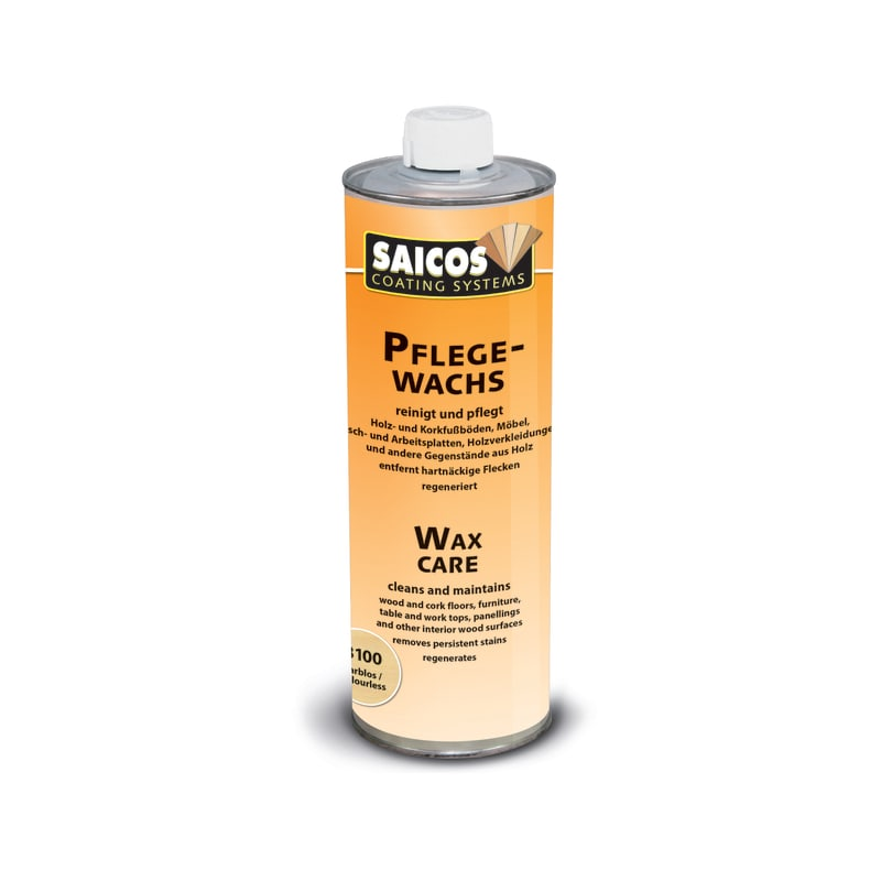 Saicos Wax Cleaner - Stain Remover Clear 8100 Oils & Maintenance