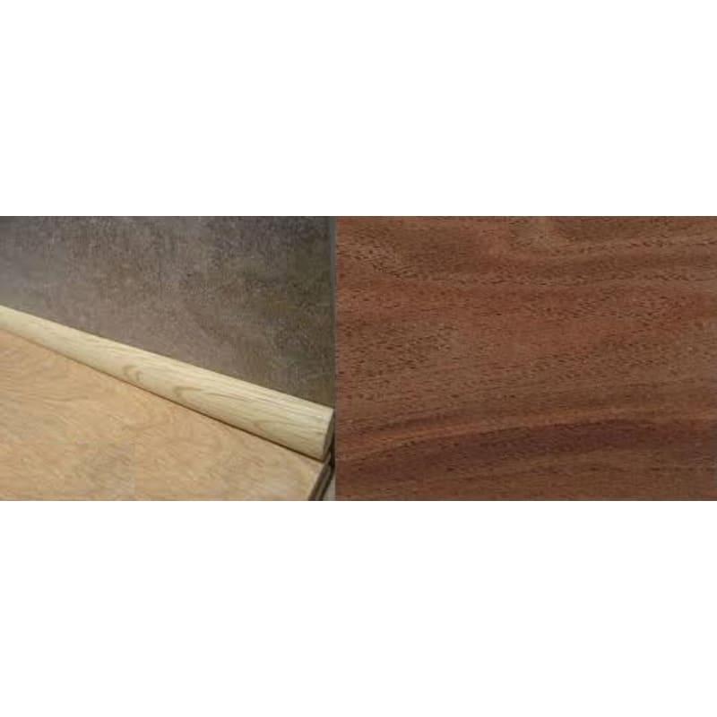 Solid Walnut 19mm Quadrant 2.44-meter Scotia