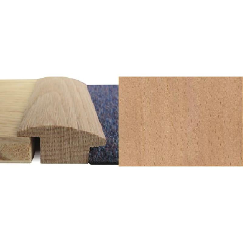 Beech Wood to Carpet 15mm Rebate Solid 2.7 metre Wood To Carpet