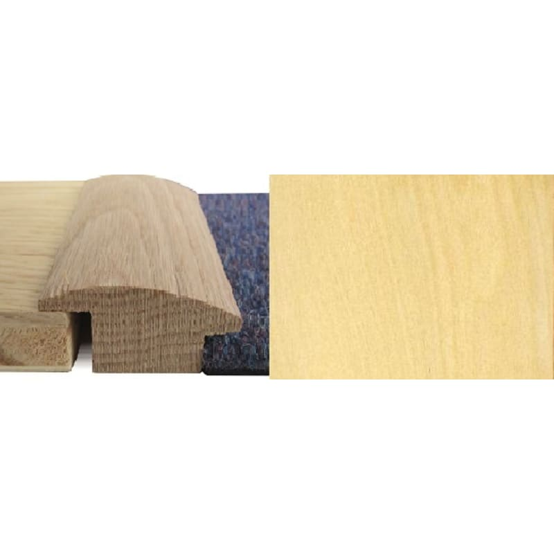 Maple Wood to Carpet 15mm Rebate Solid 2.7 metre Wood To Carpet