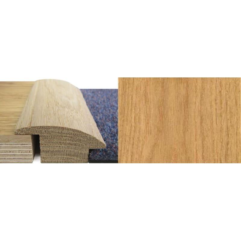 Oak Wood to Carpet 20mm Rebate Solid 2.7 metre Wood To Carpet