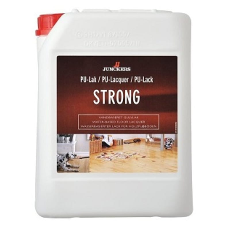 Junckers Strong SEMI-GLOSS 5L Lacquers & Seal