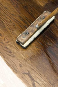 Appling Oils to wooden flooring