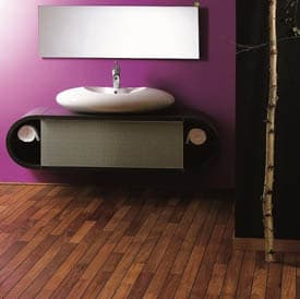 Main Image for article Small Bathroom Flooring Ideas
