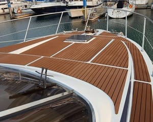 Main Image for article Marine Flooring, use NAVYLAM+ In Narrow Boats and Yachts