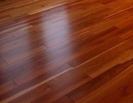some cherry engineered wood floors