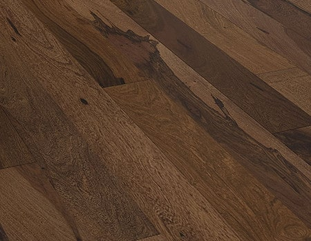 close up of a Lacquered engineered wood floor