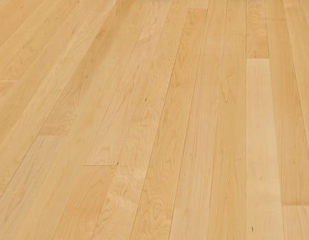 an engineered maple wooden floor