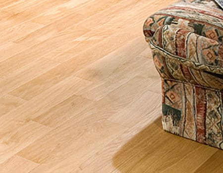 close up of a oak engineered wooden floor