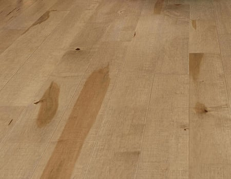 an unfinished wooden floor