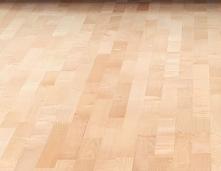 an unfinished parquet wooden floor