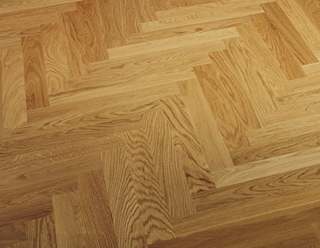 some oiled finished parquet floors