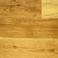 top view of hickory flooring