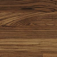 Exotic Zebrano wooden floor