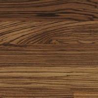 Exotic Zebrano wooden floor