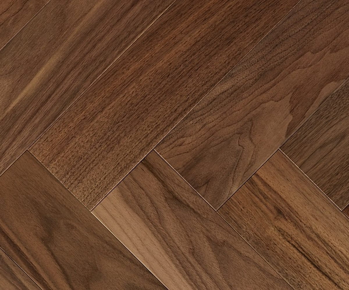 American Black Walnut 280mm Engineered Parquet Block