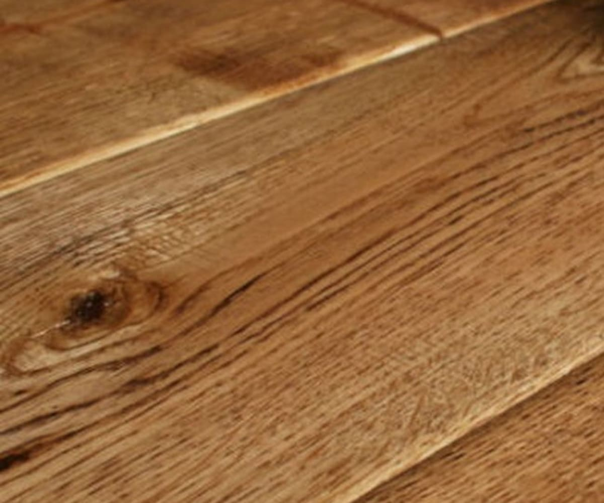 Antique Clear Oak Handscraped Hardwood Solid Oak Wood
