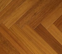 Jatoba Prime 280mm Engineered Parquet Block - Herringbone