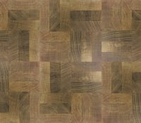 End Grain Fumed Oak 3 Block Mosaic (560mm x 140mm x 18mm) Parquet Flooring