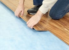 Which underlay suits my floor best?