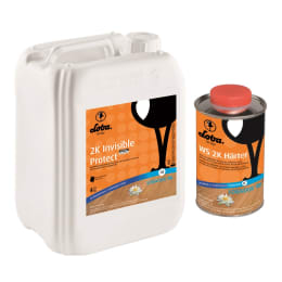 Lobadur Invisible 2k  Lacquer for Wood Flooring 5L (1L=9m2 Coat)