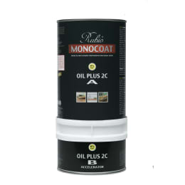 Rubio Monocoat  Wood Flooring Oil Plus 2C Set A & B PINE 1.3L