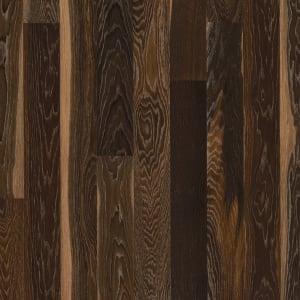 Smoked Stained Oak Brushed Natural Oiled Hardwood Flooring