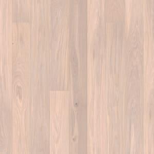 Mist White Pigmented Stain Oak Natural Oil Engineered Wood Flooring