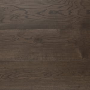 Indian Ebony Hardwax Oiled Oak Wide Board Engineered Wood Flooring