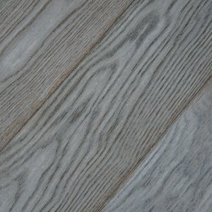 Smokehouse Grey Brushed Hardwax Oiled Oak Engineered Hardwood Flooring