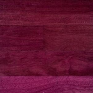 Purpleheart (Jarrah) Lacquered Engineered Hardwood Flooring