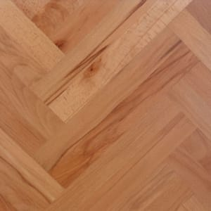 Beech Prime 280mm Engineered Parquet Block - Herringbone