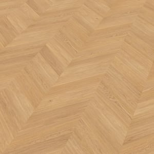 Bohus Oak Brushed & Natural Oil Chevron Parquet Flooring