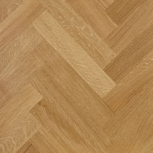 Prime Oak 350mm Oiled Herringbone Parquet Engineered Block