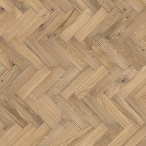 Oak Alnwick Herringbone Parquet Block