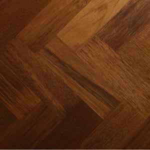 Merbau 230mm Parquet Block - Herringbone