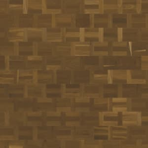 Fumed Oak Dutch Patterned Parquet Flooring