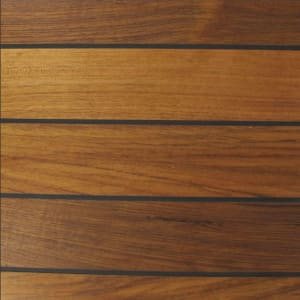 Teak Navylam+ 136mm Wide Board Parquet Bathroom Wood Flooring