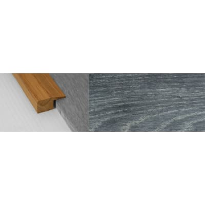 Midnight Mist Stained Solid Oak Square Edge Flooring Profile 15mm 2.7m