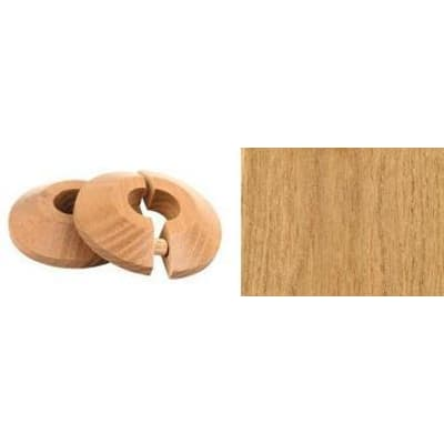 Oak Solid Wood Pipe Rose Pack of 2