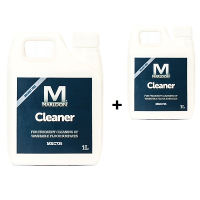 MXC 735 Wooden Floor Cleaner Concentrate 1 Litre (Twin Pack)